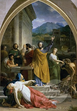 Death of Sapphira