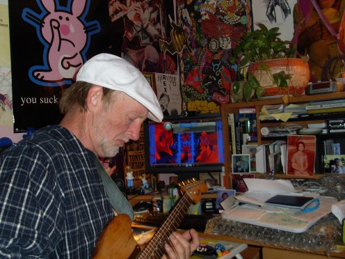 Madman in studio