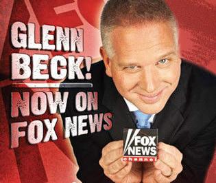 I'm Fox News Hypocrite Glenn Beck... look at me blah blah blah