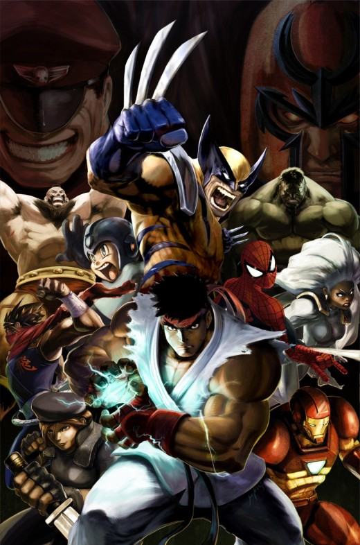 Marvel vs. Capcom 2 Promo Art