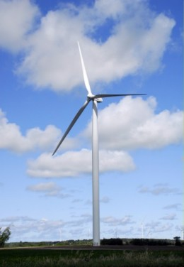 Wind power is efficient and environmentally friendly!