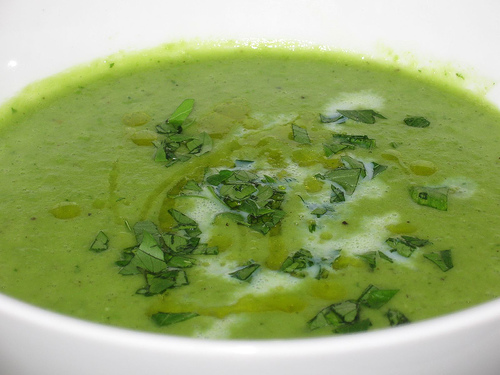 Green Peas and Onion Soup is a easy to make soup and can be prepared in less than 30 minutes.