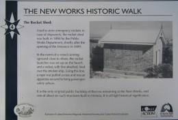 plaque for Rocket Shed