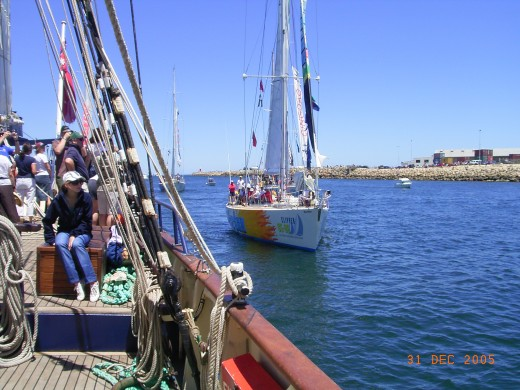 Sailing away on an old ship on the second Christmas Day was a dream come true for our children.