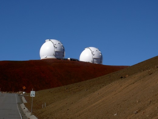 Nearing the observatory area.