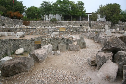 Ruins of Mausoleum at Halicarnassus