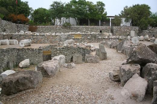 Ruins of Mausoleum at Halicarnassus
