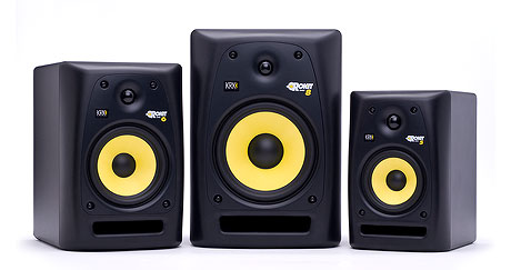 "The Rokit Series from KRK comes with 5"", 6"", or 8"" Woofer Drivers plus an available sub woofer."