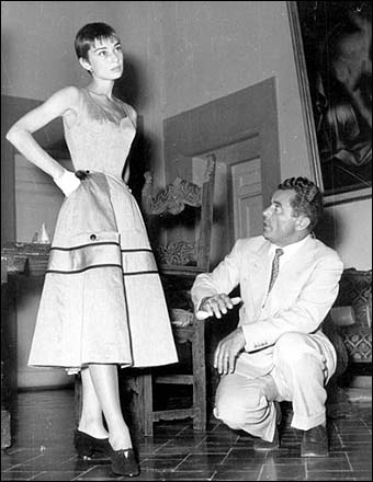 FERRAGAMO WITH AUDREY HEPBURN (I THOUGHT SHE HAD THINNER ANKLES)