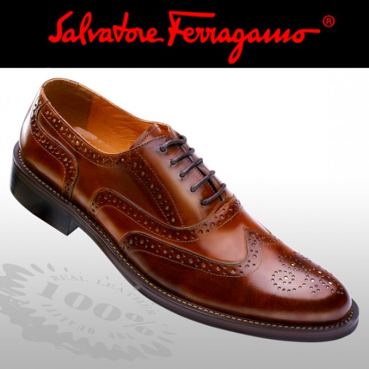 FERRAGAMO SHOES FOR MEN