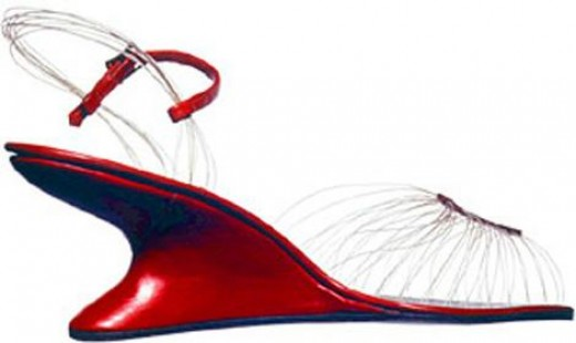 FERRAGAMO TRANSPARENT SANDALS