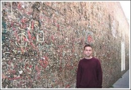The chewing gum wall t Seattle