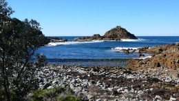 Mimosa Rock not far from Bega