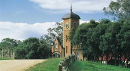 Historic church at Bega on the Sapphire coast.