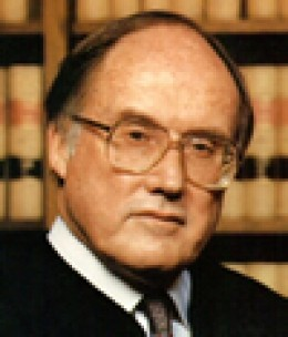 Former United States Supreme Court Chief Justice William H. Rehnquist