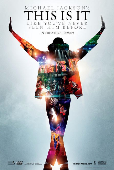 """This Is It"" movie poster."
