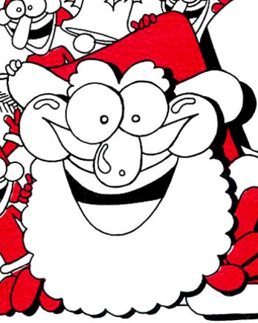 Smiley Santa by rlz