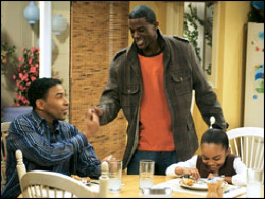 Allen Payne (pictured left) has been apart of much more credible productions in the past, so why'd he settle?