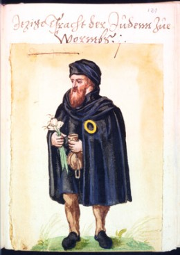 ILLUSTRATION OF JEWS IN MIDDLE AGES