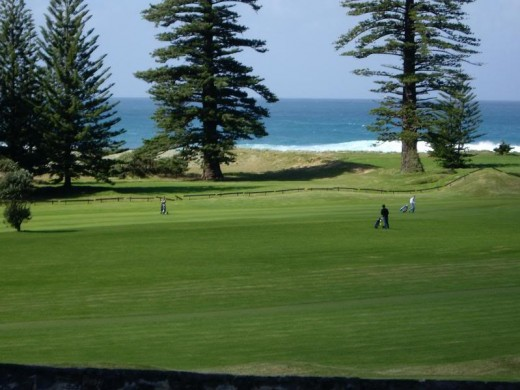 Golf lovers well catered for on Norfolk Island