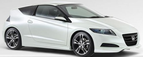 The sleek and sporty Honda's CR-Z Concept. Picture from automobiles.honda.com