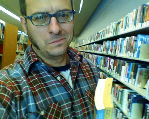 You don't have to wear a snear or a flannel when at the library, but oftentimes, the author does.