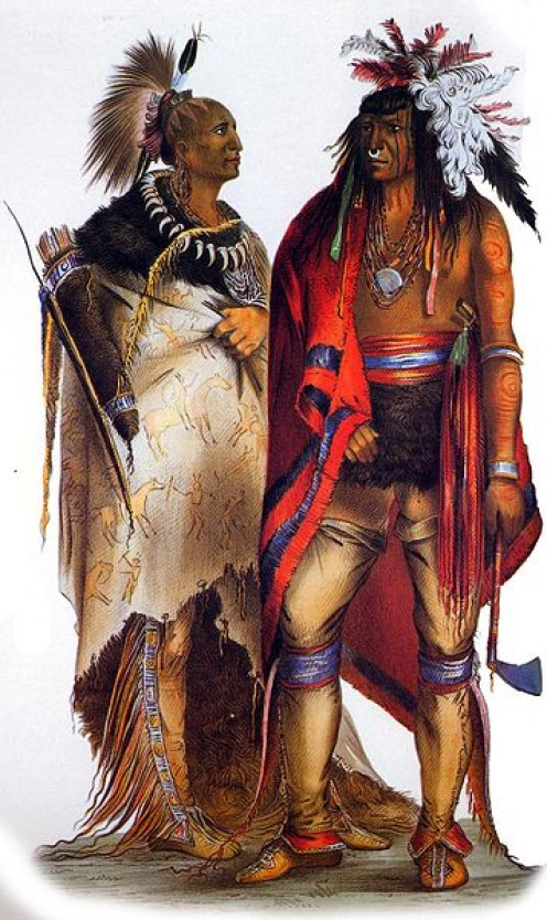 Iroquois Confederacy members.