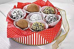 Gift Wrap Something Sweet For The Holidays- Easy 10 Minute Chocolate Candy And Dessert Recipes