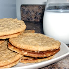 Oatmeal Peanut Butter Cookies III (from allrecipes.com)