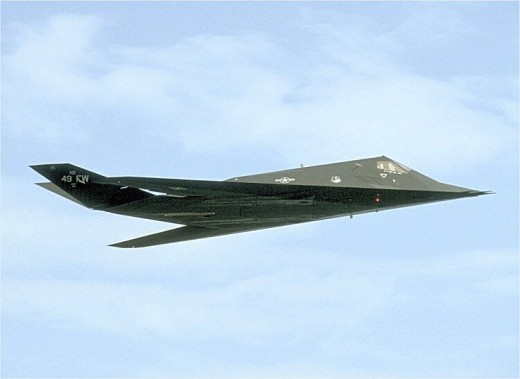 F-117 Nighthawk stealth fighter in flight