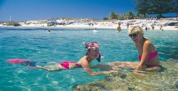 Due to the clear waters and warm around the island and warm weather, Snorkling is a fun pasttime.