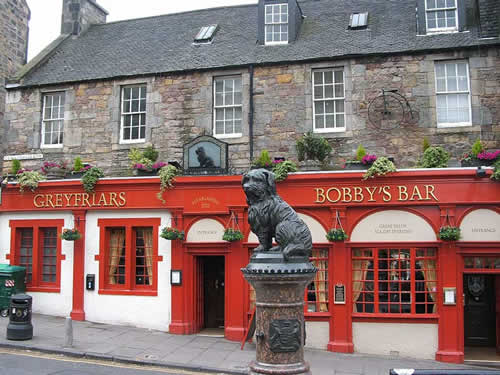 Greyfriars Bobby bar Edinburgh