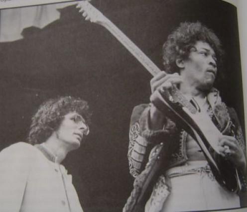Kooper with Hendrix