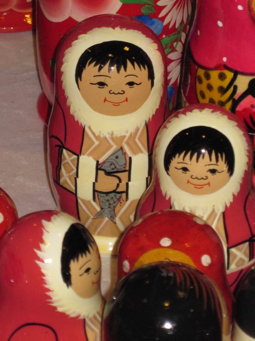 Russian Matryoshka or Nesting Dolls
