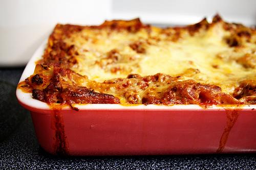 Classic Italian lasagna http://www.flickr.com/photos/exlibris/3026875742/