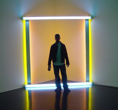 Dan Flavin Exhibit 2005