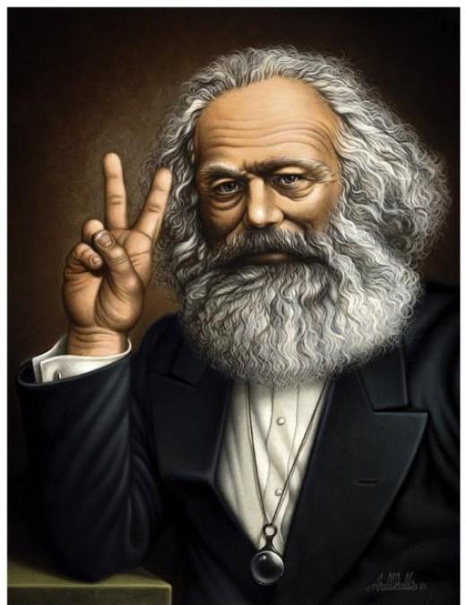 Karl Marx (more or less)