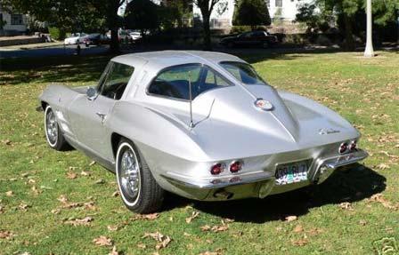 1963 corvette stingray split window