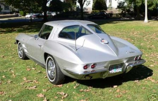 1963 corvette stingray split window