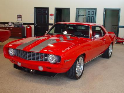 1969 Chevy Camaro z-28 ss coupe