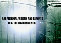 Paranormal Visions and Reports Real or Environmental