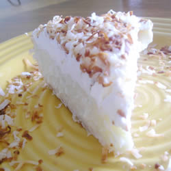 Here is truly the best ever coconut cream pie. If your looking for the best ever coconut cream pie you have found it.