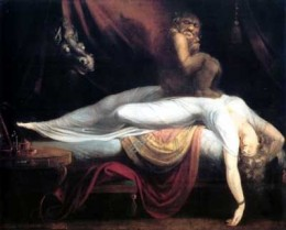 """The Nightmare,"" painting by Henry Fuseli."