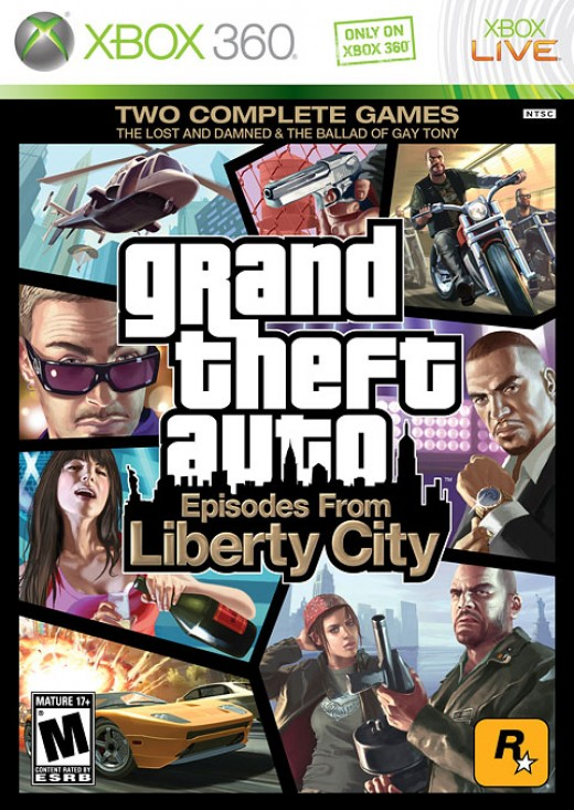 Grand Theft Auto: Episodes From Liberty City (photo from rockstargames.com)