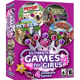 Multi pack computer games for girls