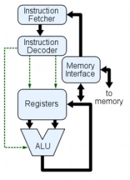 CPU or just called processor, is a description of a class of logic machine that can execute computer program. Four steps that nearly all CPUs use in their operation: fetch, decode, execute, and writeback.
