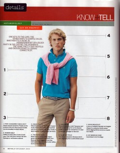 Pulling Off A Preppy Style