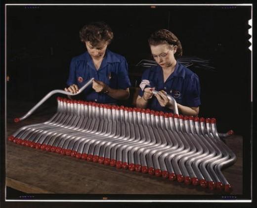 Machine bent tubing