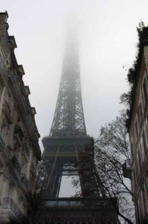 Paris Winter Day