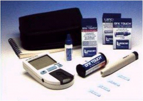 full set of glucometer